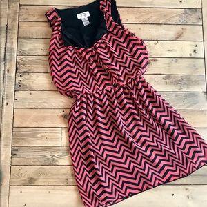 Chevron summer dress